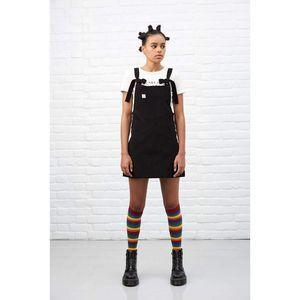 Lucy & Yak Dress S Organic Mini Pini Corduroy Blck